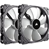 Corsair CO-9050044-WW ML140, 140mm Premium Magnetic Levitation Fan (2-Pack)