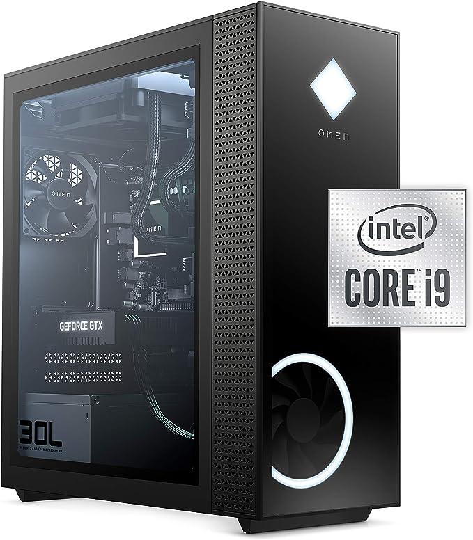 OMEN 30L Gaming Desktop PC, NVIDIA GeForce RTX 3080 Graphics Card, 10th Generation Intel Core i9-10850K Processor, 32 GB RAM, 1 TB SSD and 2 TB Hard Drive, Windows 10 Home (GT13-0092, 2020) | Amazon