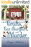 Crafts, Cat Burglars, and Murder (Craft Circle Cozy Mystery Book 4)