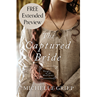 The Captured Bride (Free Preview): Daughters of the Mayflower - book 3 (English Edition)