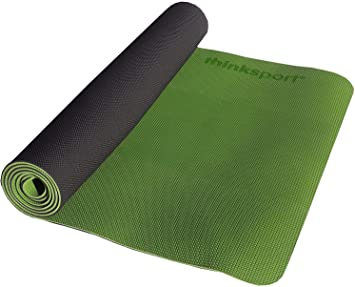Amazon.com: thinksport de yoga y pilates mat, Verde: Sports ...