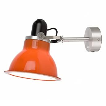 Anglepoise type 1228 wall light seville orange shade amazon anglepoise type 1228 wall light seville orange shade aloadofball Choice Image