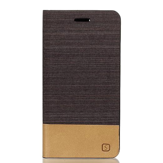 34 opinioni per Voguecase® Per Lenovo Vibe K5, (Sailing Series- marrone) Elegante borsa in pelle