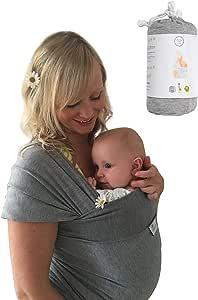 DaisyGro Baby Wrap (Regular US 0-12, US Grey)