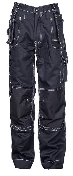 Stenso Estremo® - Pantaloni da Lavoro Style Cargo - Uomo - Nero  Amazon.it   Abbigliamento 7b535a04307
