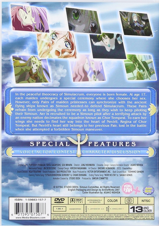 Amazon.com: Simoun - Vol. 1 - Choir of Pairs: Michi Niino, Rieko Takahashi, Junji Nishimura: Movies & TV