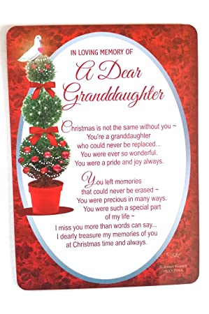 Xpress Yourself In Loving Memory Of A Dear Granddaughter Graveside