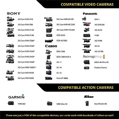 Tarjeta SD V90 (128GB):hasta 250MB/s de velocidad de ...