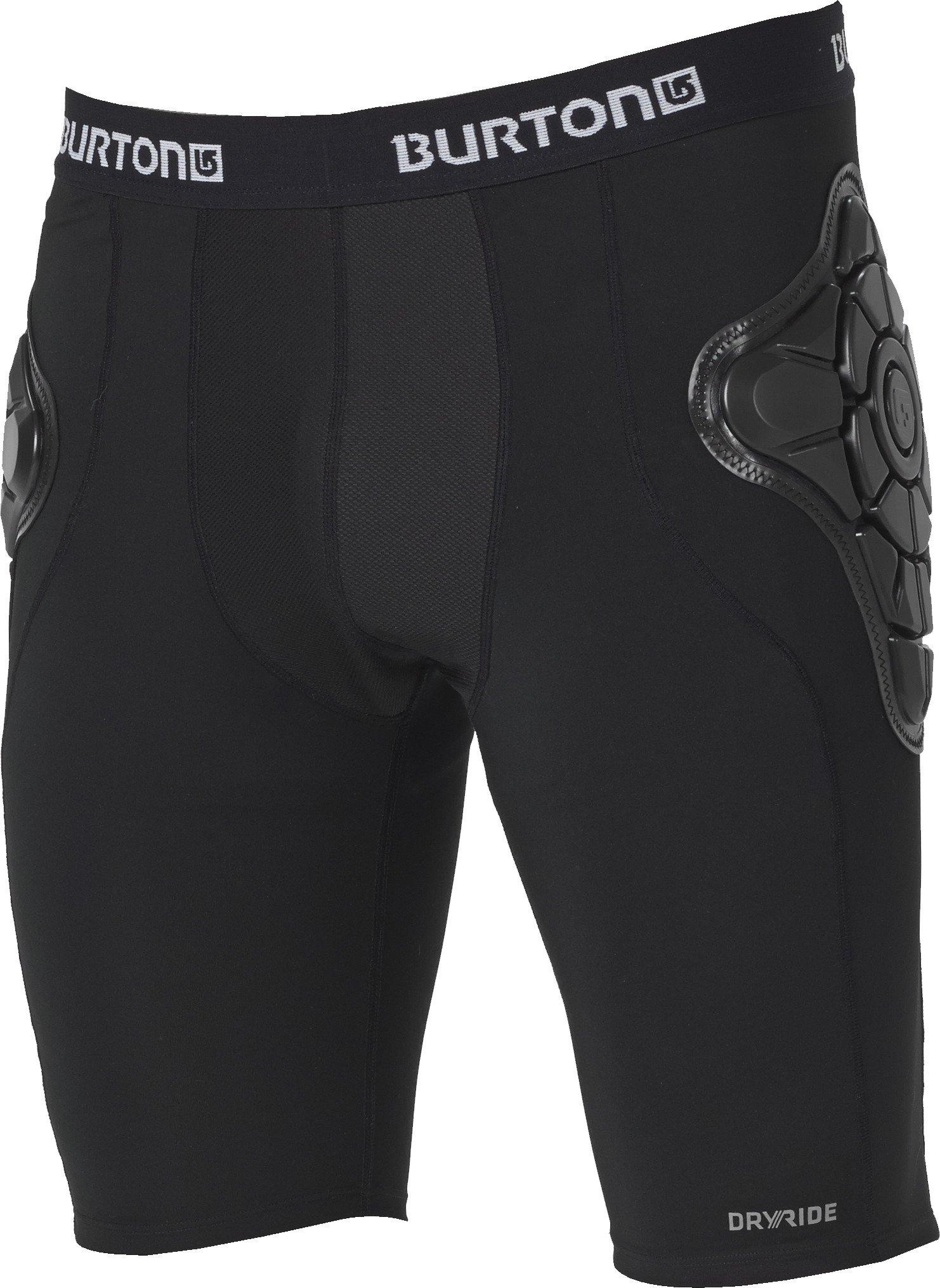 Burton Men's Total Impact Short, True Black, X-Large