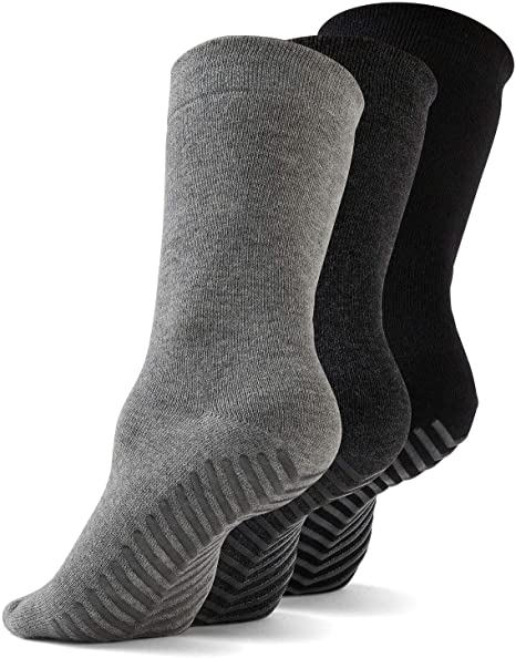 Amazon.com: Gripjoy Grip Calcetines antideslizantes para ...