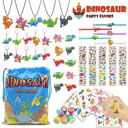 Amazon.com: Dinosaur Favores de fiesta con bolsa de ...