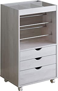 Coaster Home Furnishings 3-Drawer Caters White Oak Storage Cabinet
