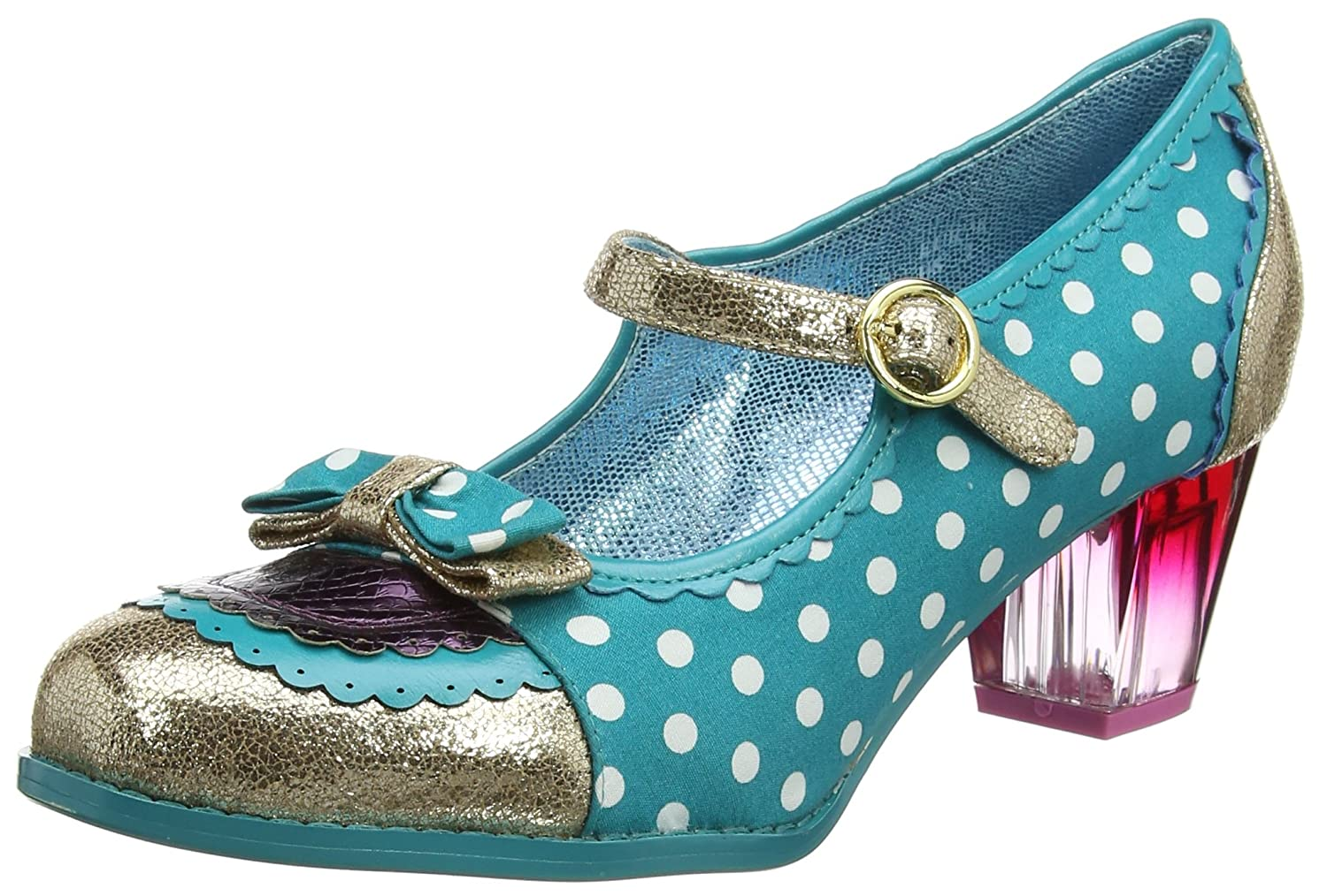 Poetic Licence by Irregular Choice Final Whistle, Mary Janes Femme