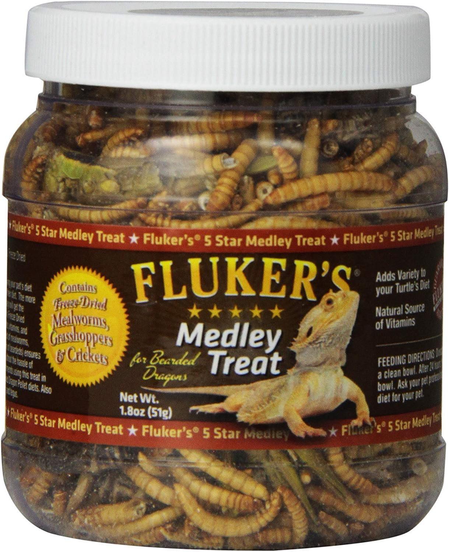 Fluker's Medley Treat for Bearded Dragons