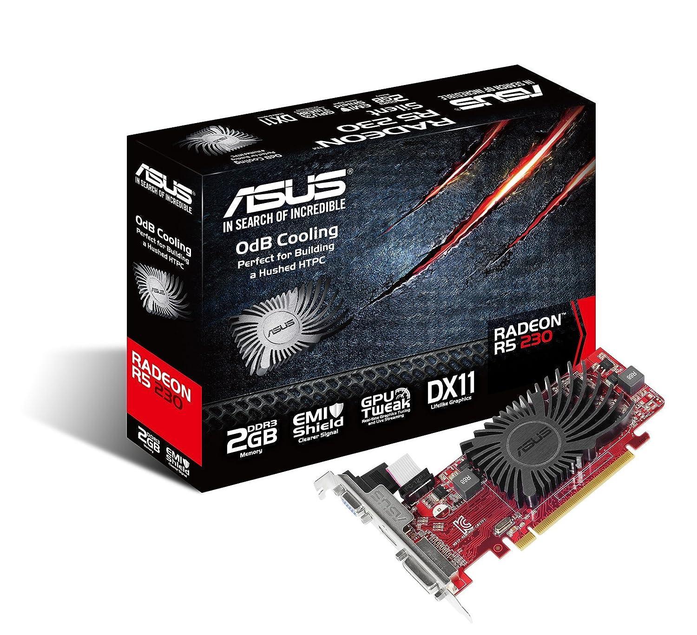 Nero//Rosso Asus Radeon R5230-SL-2GD3-L