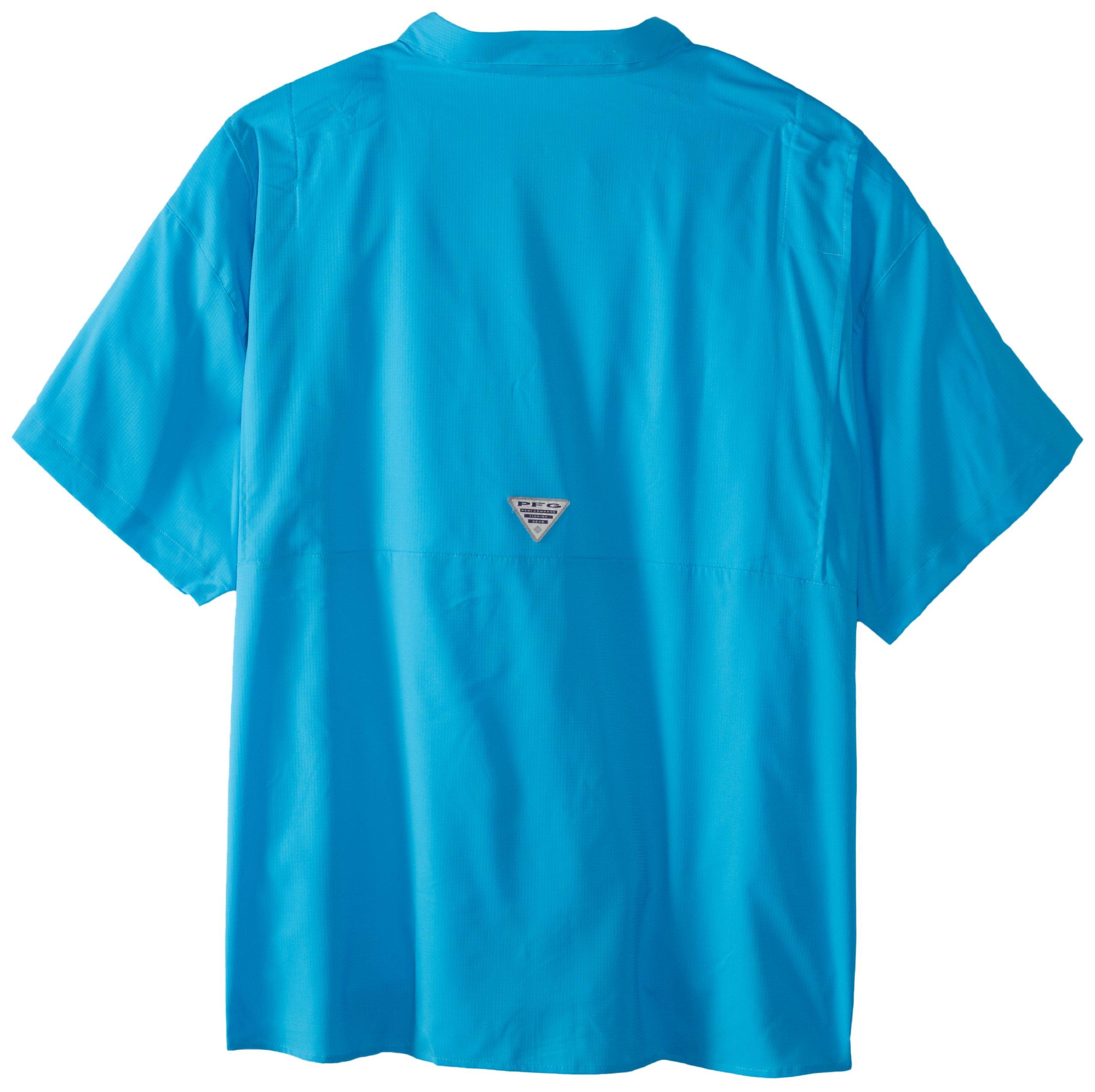 Columbia Men's Tamiami II Short Sleeve Fishing Shirt, Riptide, 4X by Columbia (Image #2)