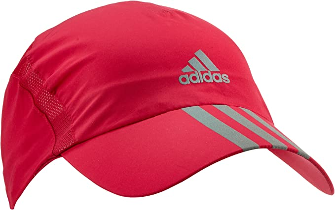 adidas Kappe Run 3-Stripes Climacool - Gorra de Tenis, Color Rosa ...