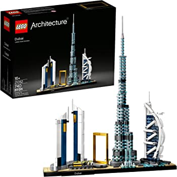 LEGO Architecture Skylines Dubai 21052 Building Kit (740 Pieces)