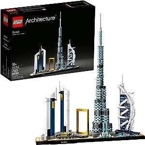 LEGO Architecture Skyline 21052 Dubái (740 piezas)