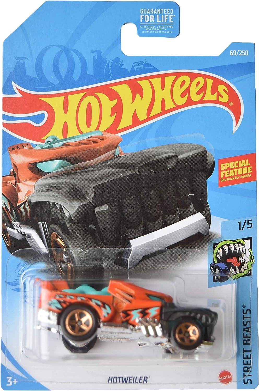 Orange Hotweiler Street Beasts 1//5 DieCast Hotwheels