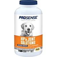 ProSense Glucosamine for Dogs, Advanced Hip and Joint Solutions for All Dogs, Chewable Tablets