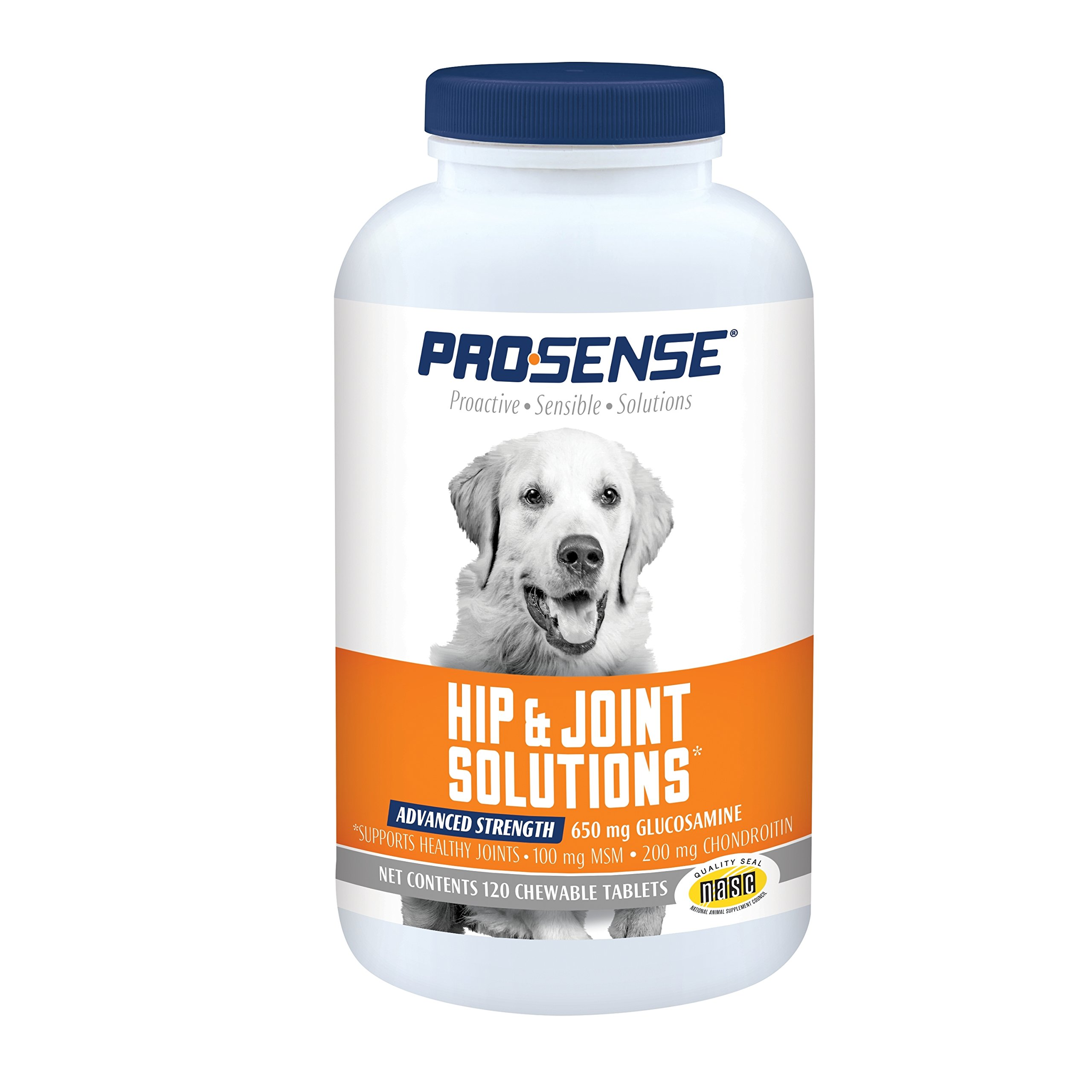 ProSense Advanced Strength for Dogs Glucosamine Chew Tablets 120 ct by ProSense