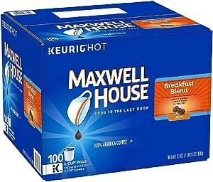 Maxwell House Breakfast Blend Coffee , Single Serve Keurig K-Cup (84 ct)