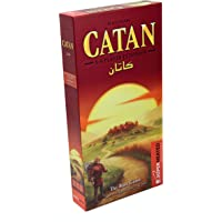 Catan Base Game | Extension 5-6 Players | Official Version | English and Arabic Language | Family Game For Ages 10…
