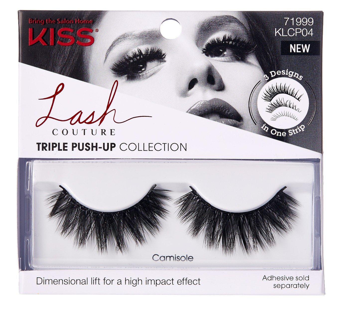 a1fc0dddd1b Amazon.com: Kiss Lash Couture Triple Push-Up Camisole (3 Pack): Beauty