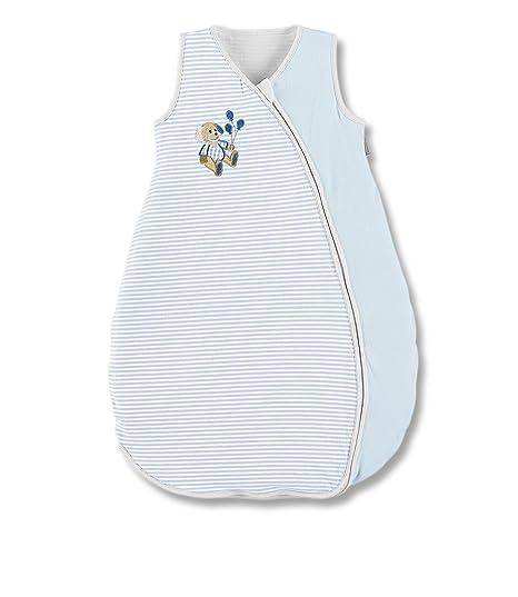 Sterntaler Henri - Saco de dormir de verano para bebé (tejido jersey) azul Talla