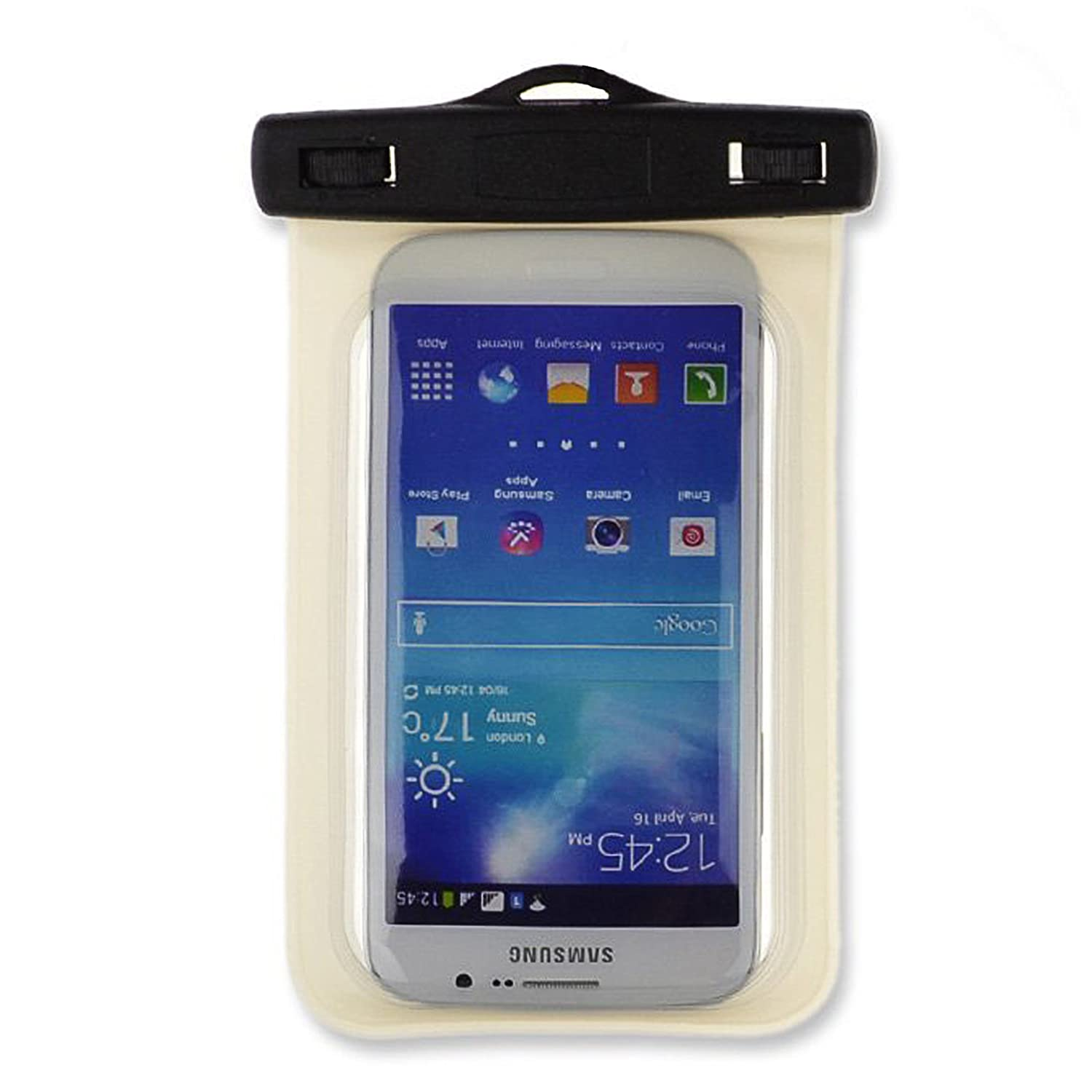 finest selection 78e42 910fd SumacLife Waterproof Bag Dry Pouch Case for Microsoft Lumia 640 XL /  Microsoft Lumia 950 XL, White