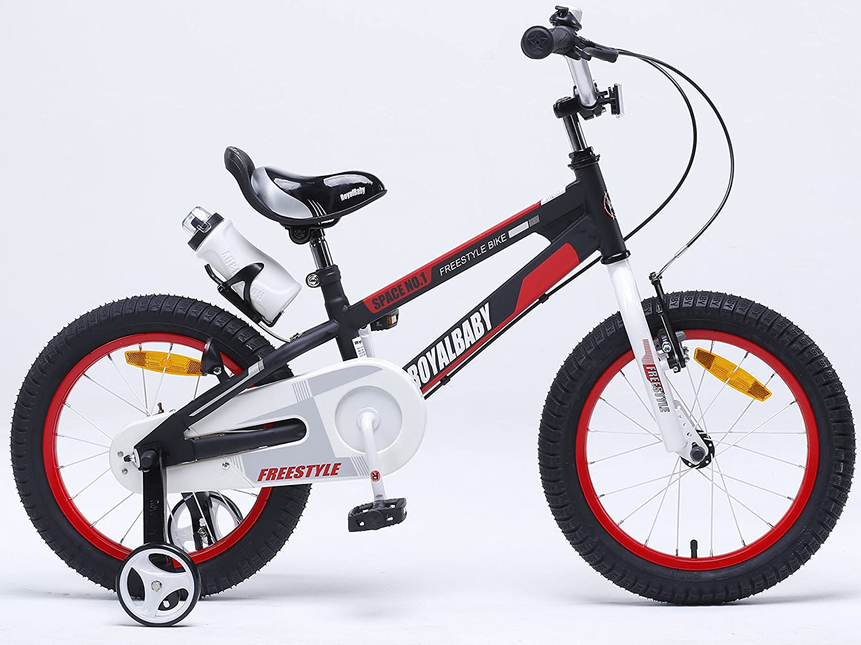 con resistenti rotelle bicicletta freestyle per bambini Royal Baby borraccia e supporto campanello