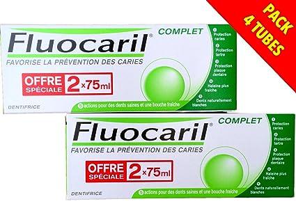 Fluocaril - Fluocaril Pasta de dientes Completa Lote de 4 x 75 ml …