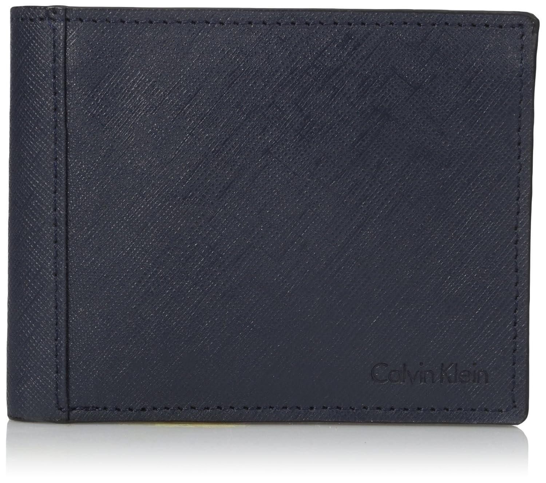 Amazon.com: Calvin Klein Calvin Klein Saffiano Billetera ...