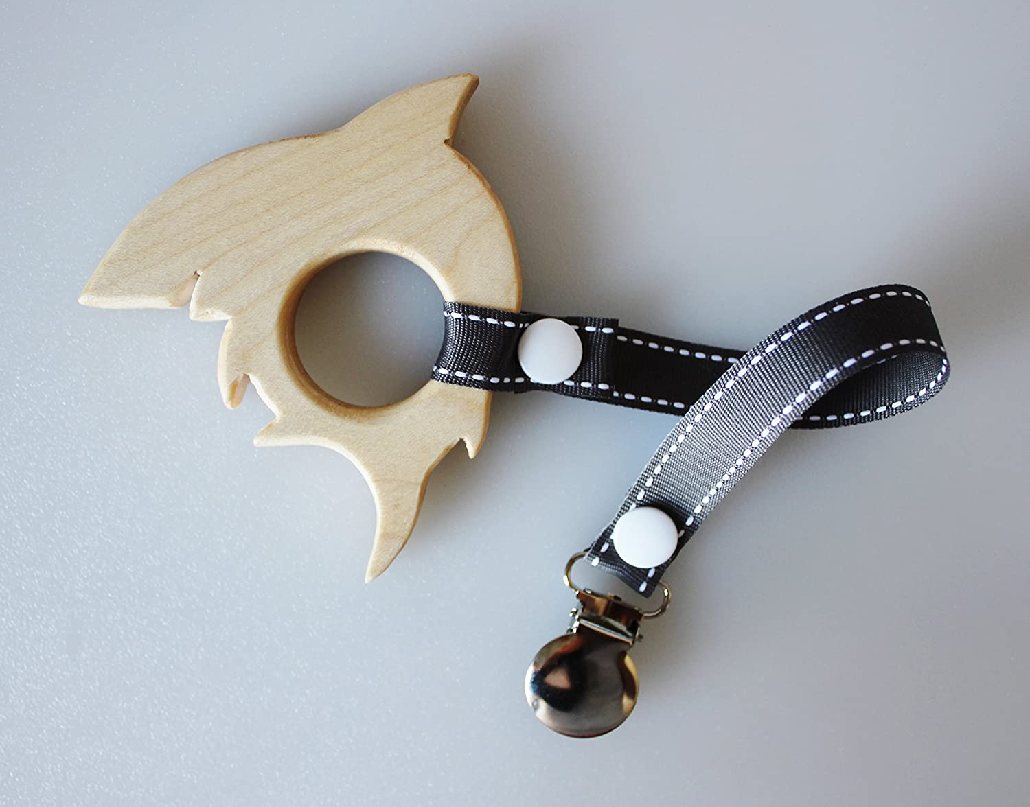 Wooden Shark Teether