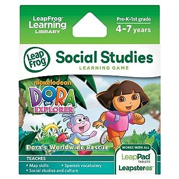 Dora la Exploradora Dora - Accesorio para tablet para niños (versión en inglés)