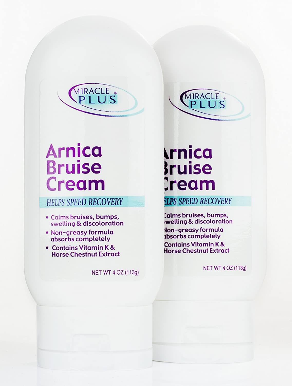 Amazon.com : Miracle Plus Arnica Bruise Cream for bruising, swelling ...