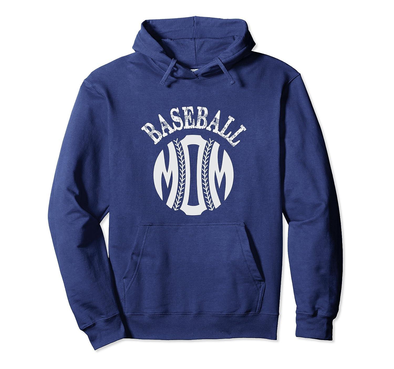Baseball Hoodie for Mom Baseball Mother's Day Gift tshirt-TH