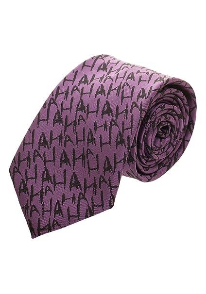 Amazon.com: El Joker Micro impresión cuello corbata ...
