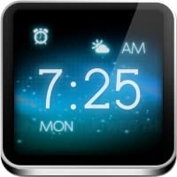 Antair Nightstand - Alarm Clock, Weather, News, Flashlight