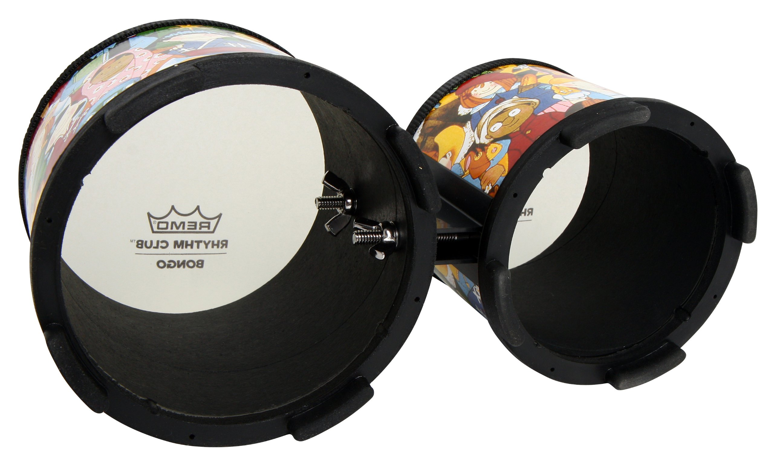 Remo RH-5600-00 Rhythm Club Bongo Drum - Rhythm Kids, 5''-6'' by Remo