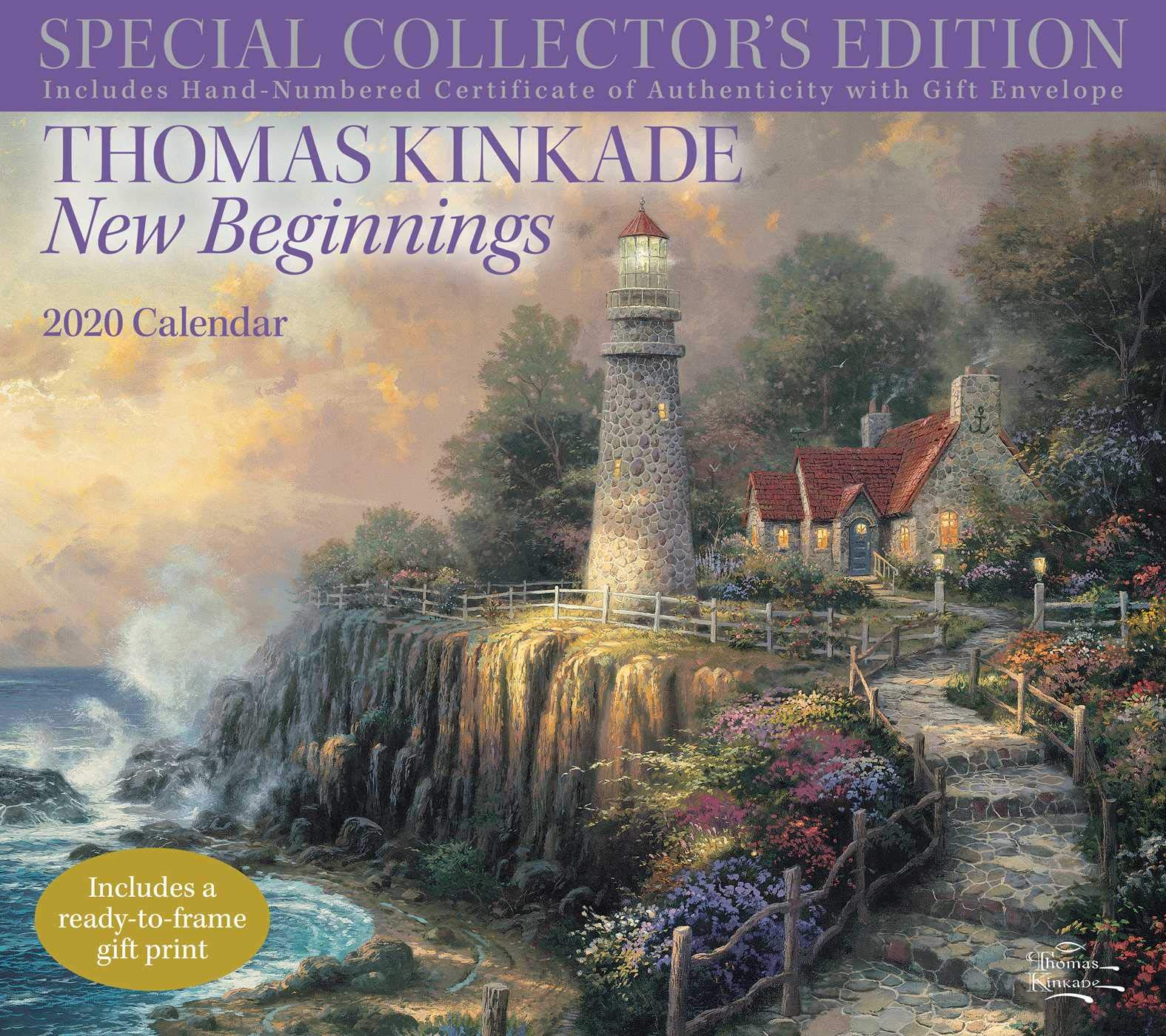 New Edition Concert Schedule 2020 Amazon.com: Thomas Kinkade Special Collector's Edition 2020 Deluxe