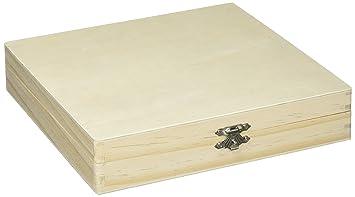 Darice Boîte à Cigares En Bois Brut à Décorer 21 X 207 X 45 Cm
