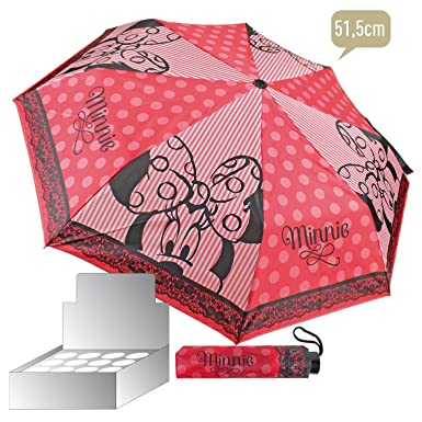 Paraguas Minnie Disney plegable 51cm