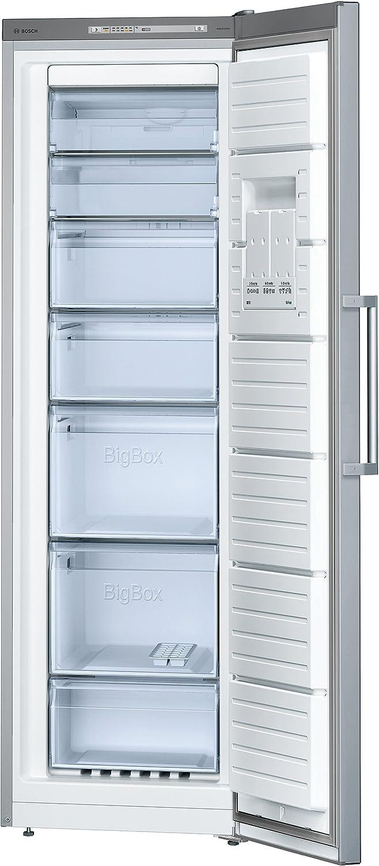 Bosch GSN36VL30 - Congelador (Vertical, Independiente, Acero ...