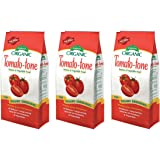 Tomato-tone rVPLZN Organic Fertilizer - FOR ALL YOUR TOMATOES, 3 Pack of Four lb Bags