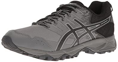 ASICS Men's Gel-Sonoma 3 Running Shoe, Carbon/Black/Mid Grey,