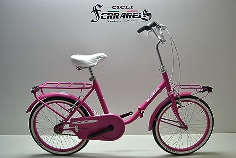 Graziella 20 Fucsia Graziella Pieghevole Bici Bicicletta Fucsia 20