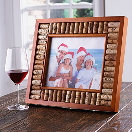 Wine Enthusiast Wine Cork Picture Frame Kit 8 X 10 Amazoncouk