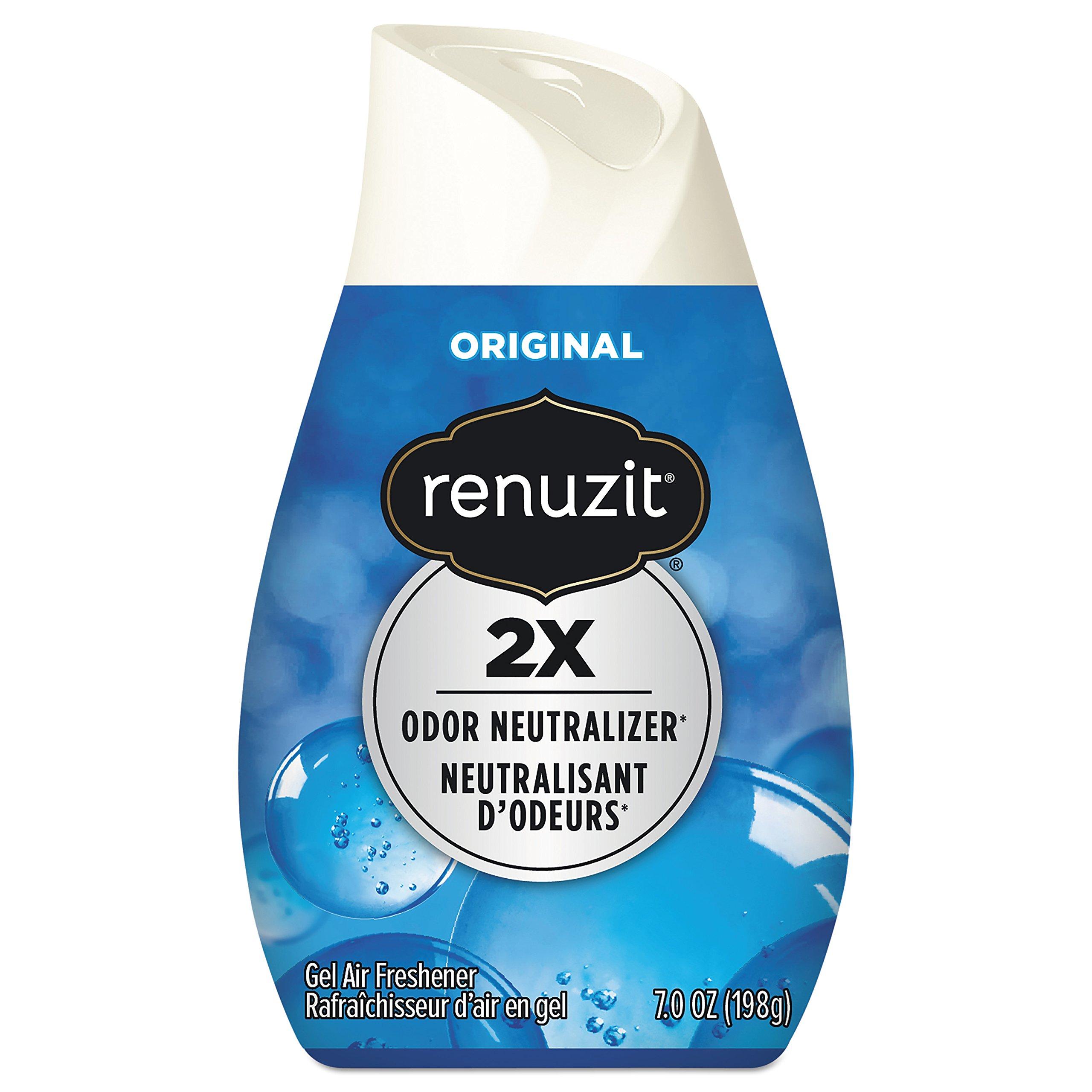 Dial Professional 03659 Renuzit Solid Adjustable Super Odor Killer 7.5 Oz. (12-Pack)
